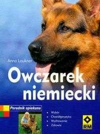 Okładka książki Owczarek niemiecki Poradnik opiekuna