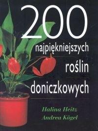Okładka książki 200 najpiękniejszych roślin doniczkowych