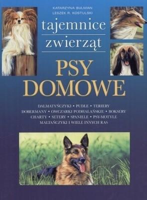 Okładka książki Psy domowe