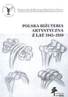 Okładka książki Polska biżuteria artystyczna z lat 1945-1950