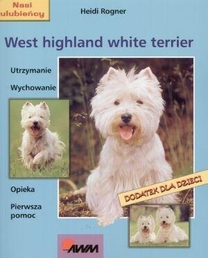 Okładka książki West highland white terrier