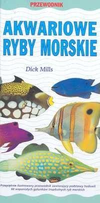Okładka książki Akwariowe ryby morskie