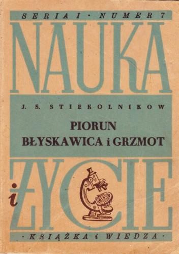 Okładka książki Piorun, błyskawica i grzmot