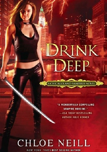 Okładka książki Drink Deep