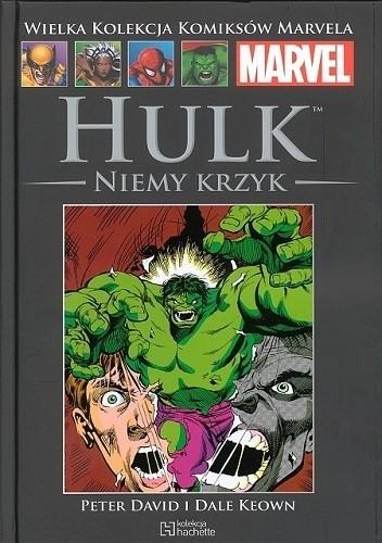 Okładka książki Hulk: Niemy krzyk