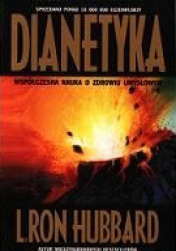 Okładka książki Dianetyka. Współczesna nauka o zdrowiu umysłowym