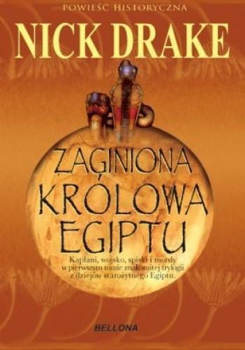 Okładka książki Zaginiona królowa Egiptu