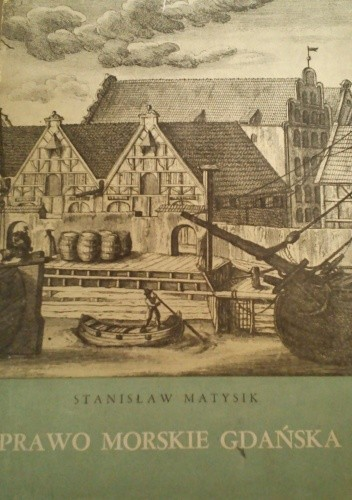 Okładka książki Prawo morskie Gdańska