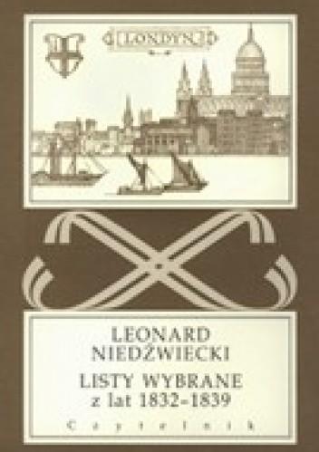 Okładka książki Listy wybrane z lat 1832-1839