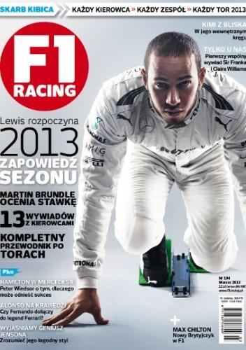 Okładka książki F1 Racing nr 3/2013