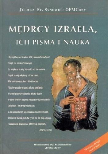 Okładka książki Mędrcy Izraela, ich pisma i nauka