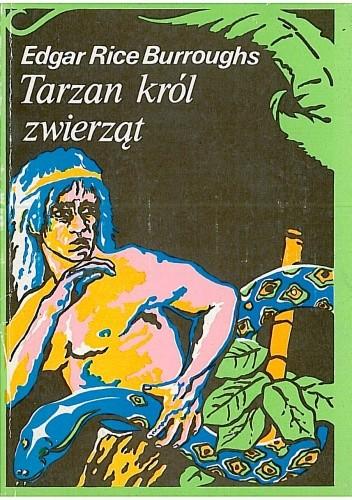 Okładka książki Tarzan król zwierząt