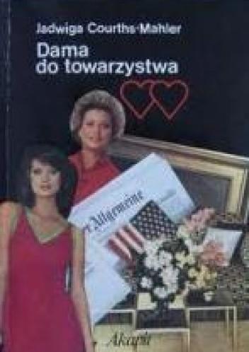 Okładka książki Dama do towarzystwa