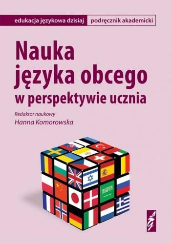 Okładka książki Nauka języka obcego w perspektywie ucznia