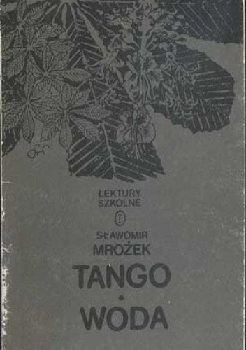 Okładka książki Tango, Woda