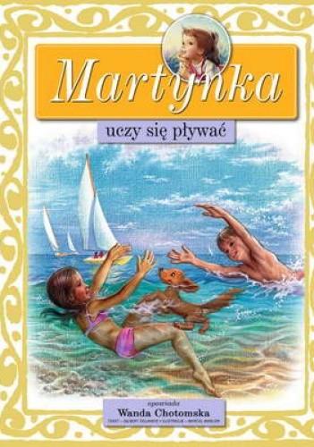 Okładka książki Martynka uczy się pływać