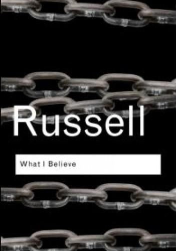 Okładka książki What I Believe