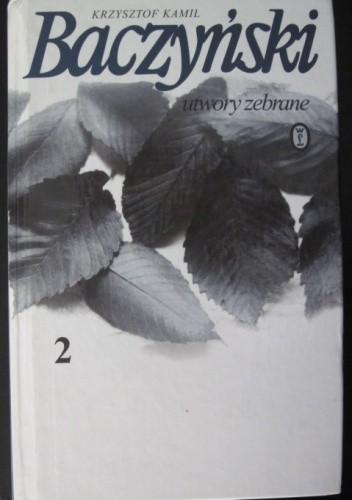 Okładka książki Utwory zebrane t.2