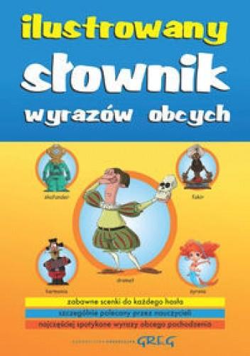 Okładka książki Ilustrowany słownik wyrazów obcych