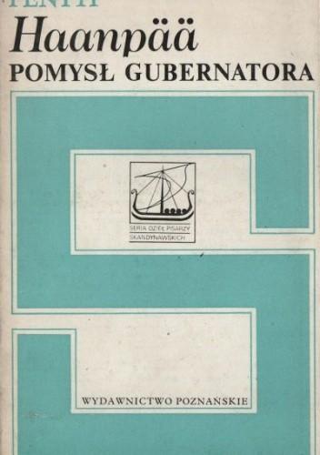 Okładka książki Pomysł gubernatora