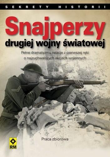 Okładka książki Snajperzy drugiej wojny światowej