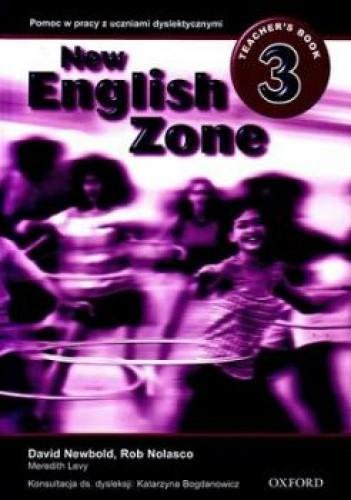Okładka książki New English Zone 3: Teacher'S Book