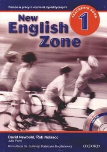 Okładka książki New English Zone 1. Teacher's Book