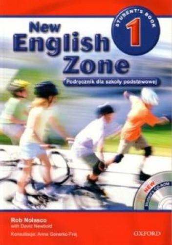 Okładka książki New English Zone 1 Student's Book. Podręcznik dla szkoły podstawowej