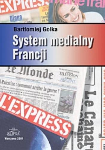 Okładka książki System medialny Francji