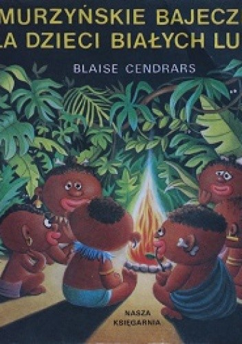 Okładka książki Murzyńskie bajeczki dla dzieci białych ludzi