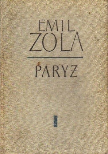 Okładka książki Paryż