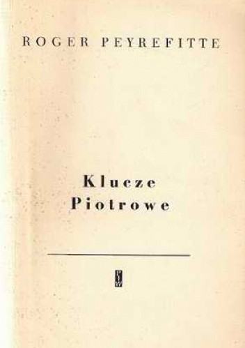 Okładka książki Klucze Piotrowe