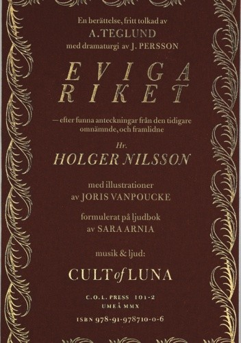 Okładka książki Eviga riket