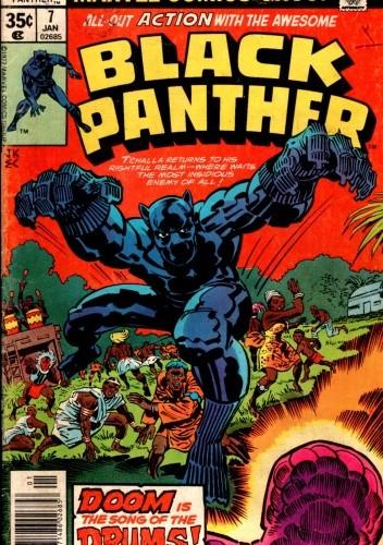 Okładka książki Black Panther #7
