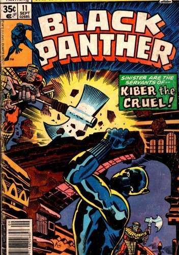Okładka książki Black Panther #11
