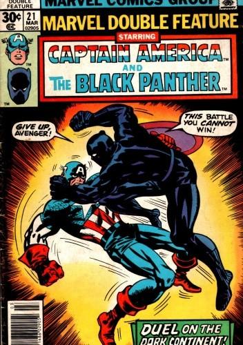 Okładka książki Marvel Double Feature #21
