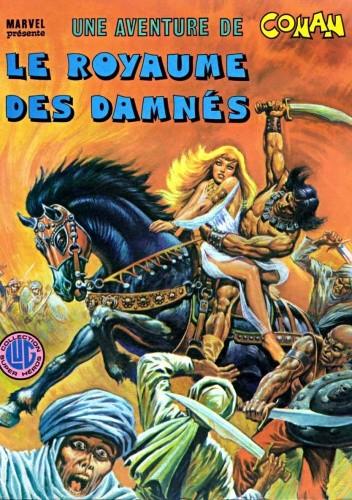 Okładka książki Une aventure de Conan 5 - Le royaume des damnés