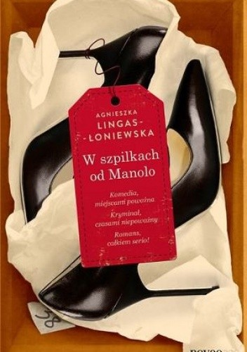Okładka książki W szpilkach od Manolo