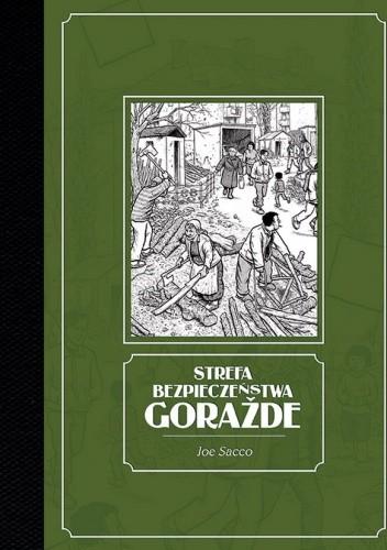 Okładka książki Strefa bezpieczeństwa Goražde