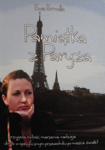 Okładka książki Pamiątka z Paryża
