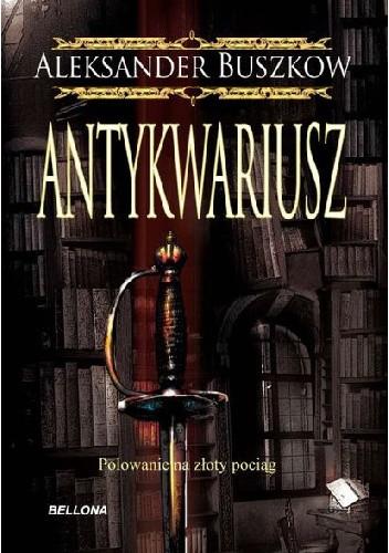 Okładka książki Antykwariusz