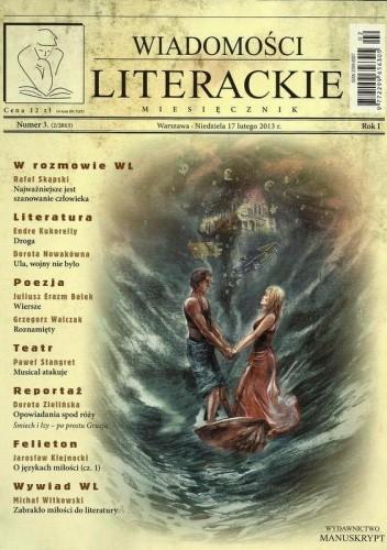 Okładka książki Wiadomości Literackie, nr 3, 2/2013