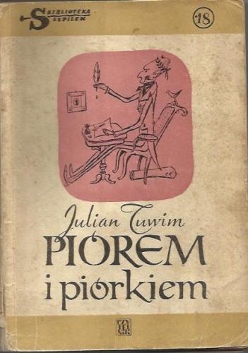 Okładka książki Piórem i piórkiem