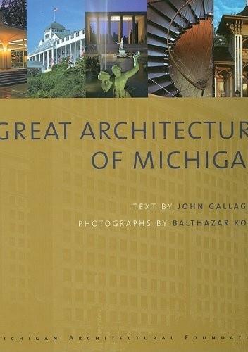 Okładka książki Great Architecture of Michigan