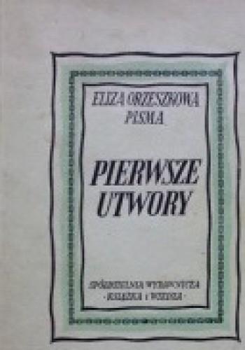 Okładka książki Pierwsze utwory
