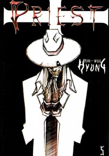Okładka książki Priest 5