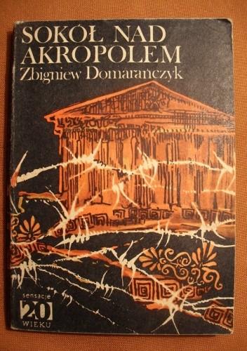 Okładka książki Sokół nad Akropolem
