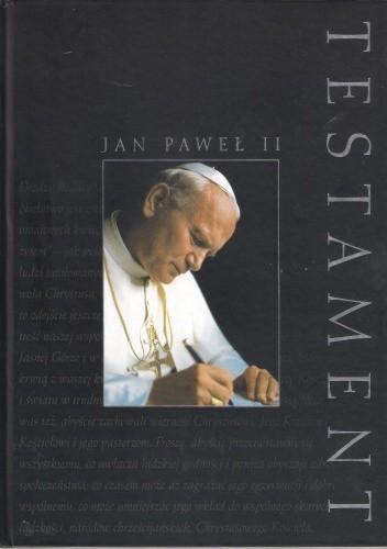Okładka książki Jan Paweł II. Testament