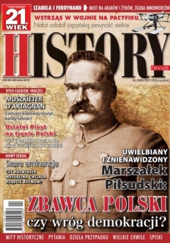 Okładka książki 21. Wiek History Revue nr 04/2012 r.