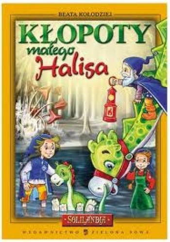 Okładka książki Kłopoty małego Halisa